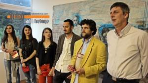 Prva izložba grupe RIZBA (video)