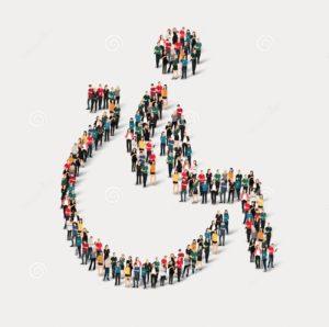 Изложба радова особа са инвалидитетом.