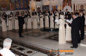 """Бањалучки хор """"Јединство"""" наступио у саборном храму"""