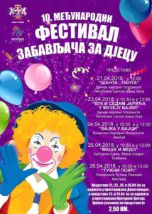 Најава:  10. Међународни фестивал забављача за дјецу