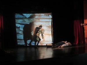 """У Културном центру одиграна представа """"Вук и седам јарића у музеју бајки"""""""