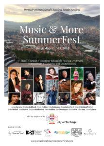 """NAJAVA : PRVI"""" MUSIC & MORE SUMMER FEST """" U TREBINJU"""