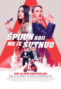 Najava bioskopa: ŠPIJUN KOJI ME JE ŠUTNUO  OD 13. DO 18. SEPTEMBRA 2018.  18.00 ČASOVA