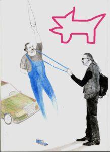 Најава: Изложба слика, цртежа и графика Марка Бурлице.