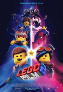 Најава биоскопа:ЛЕГО ФИЛМ 2 (THE LEGO MOVIE 2: THE SECOND PART) ОД 21. ДО 26. ФЕБРУАРА 2019.у 18.00 ЧАСОВА