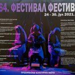 NAJAVA: 64. FESTIVAL FESTIVALA – 24.- 30. JUL 2021. GODINE